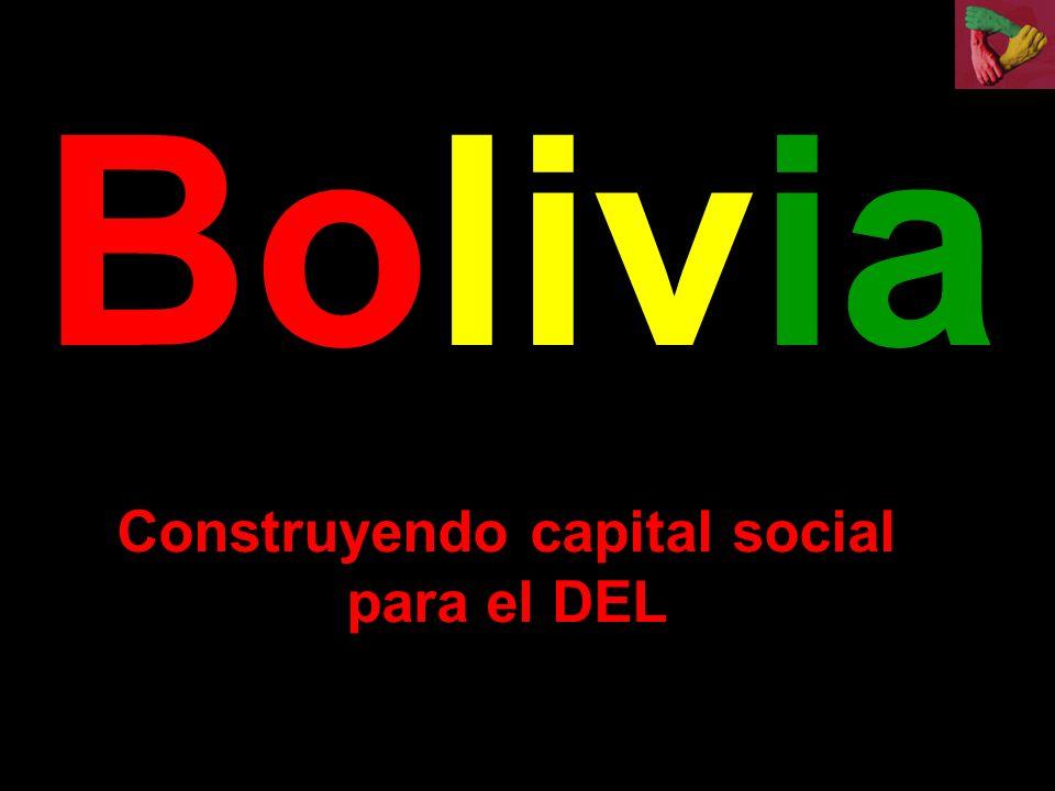 Bolivia Construyendo capital social para el DEL
