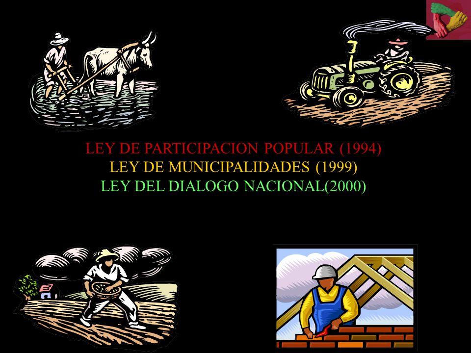 Distribución de los impuestos, patentes y regalías en Bolivia IngresoNacionalDepartamentalMunicipalOtro Regalías hidrocarburos Patente 33%66%50% Regalías Forestales Aprovechamiento Desmonte 35% 25% 40% 50% Regalías Mineras Patente 100%30%70% Ingresos Nacionales: IVA, IT, RC-IVA, IUE, ICE, GAC, ISAE, ITGB 75%20%5% IRPPB100% IEHD65%35% ITF100% IDH17.7%57.3%20%5% Fuente:alborta,2005,ddpc3