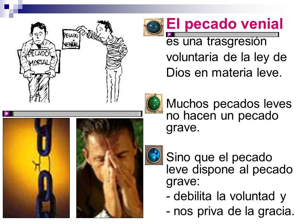 El pecado leve (por ser la materia leve), puede llegar a grave: a) si el que lo comete cree, por error, que es grave: Ej.