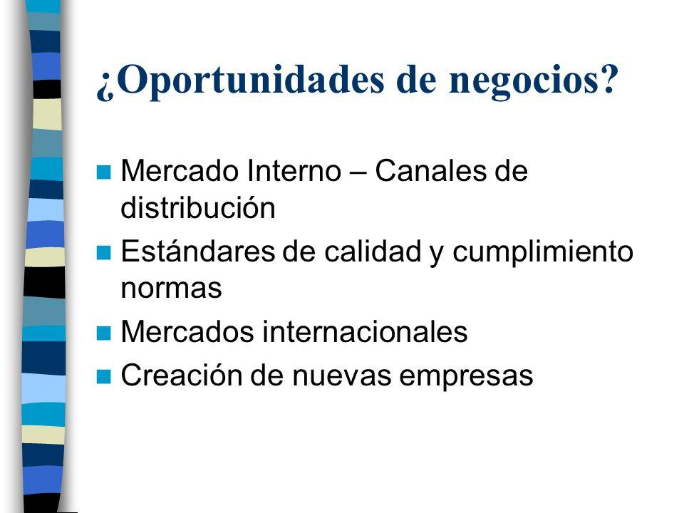 Anexo sobre Mercados Externos