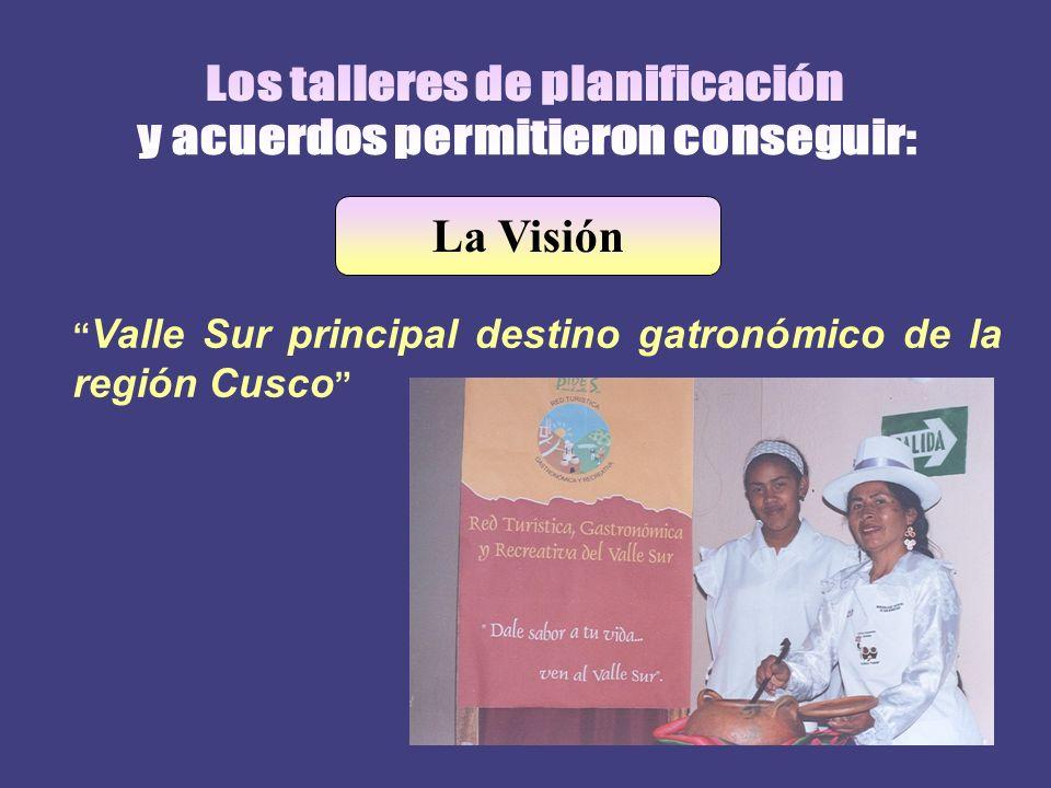 La Visión Valle Sur principal destino gatronómico de la región Cusco