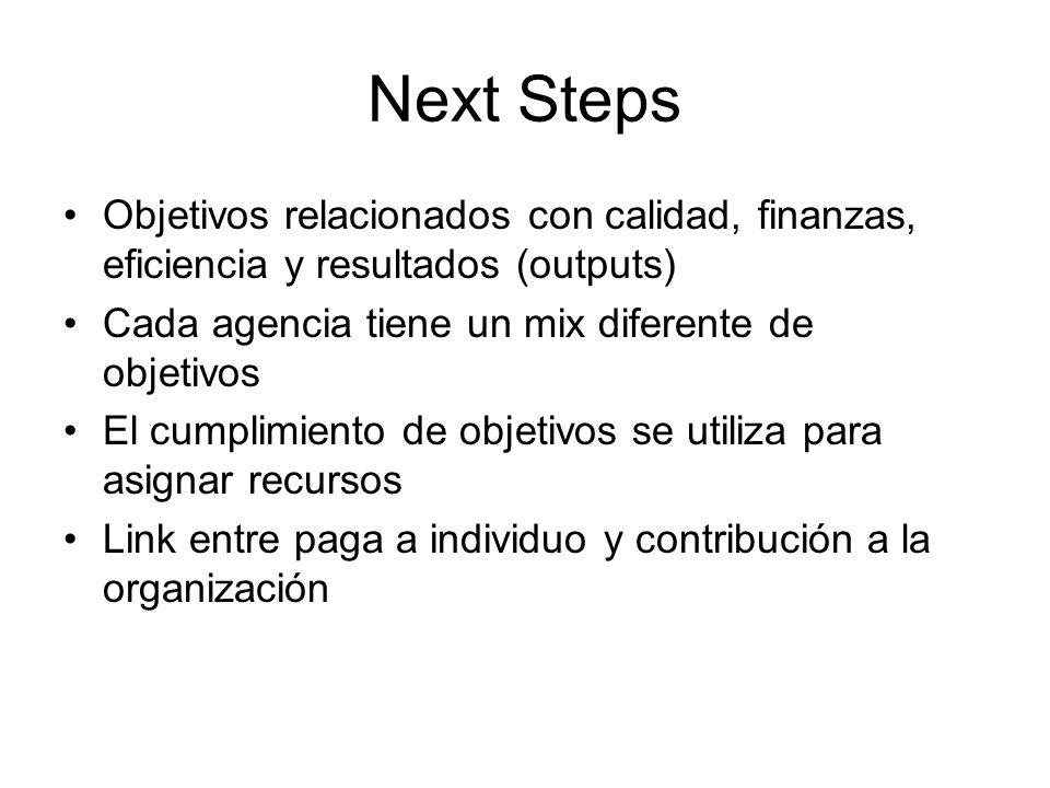 Next Steps Hoy en día ya se asume que siempre hay algo de interpretación en la medición y que componentes cualitativos son necesarios.