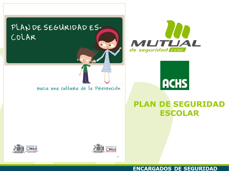 Plan de Seguridad Escolar 12