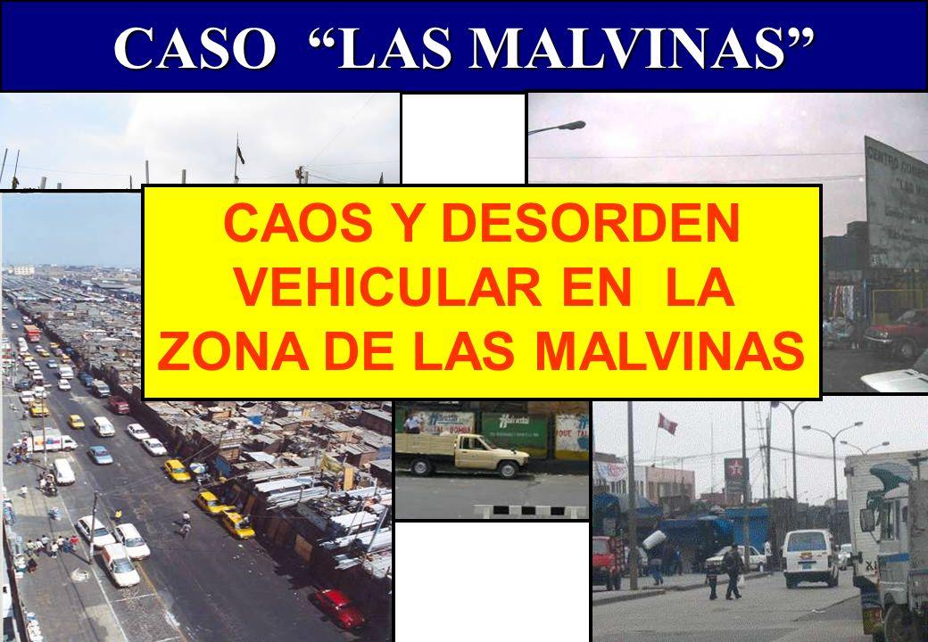 CASO LAS MALVINAS CALLES DESOCUPADAS LAS MALVINAS