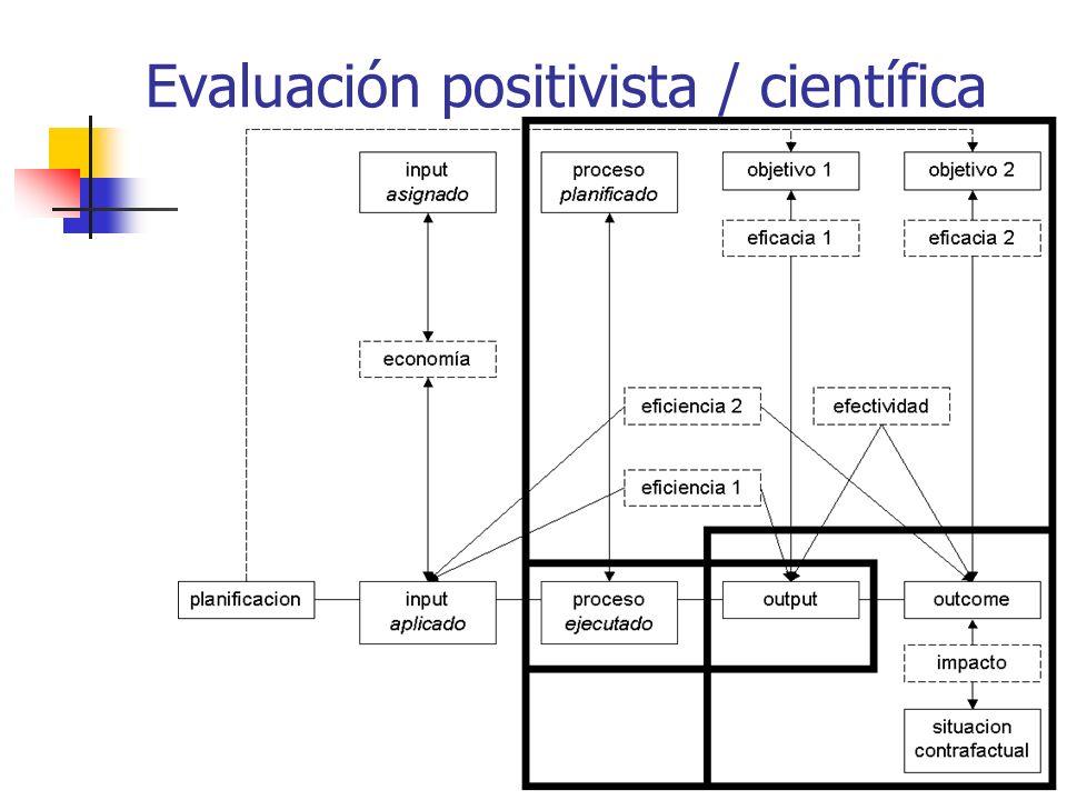 Evaluación positivista / científica
