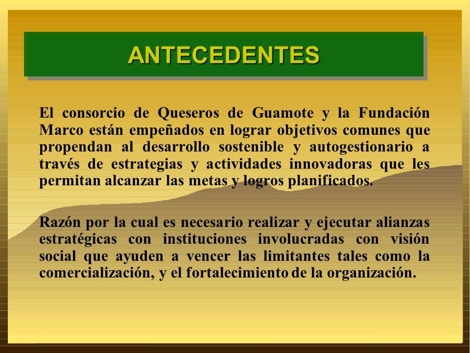 El consorcio de Queseros de Guamote y la Fundación Marco están empeñados en lograr objetivos comunes que propendan al desarrollo sostenible y autogest