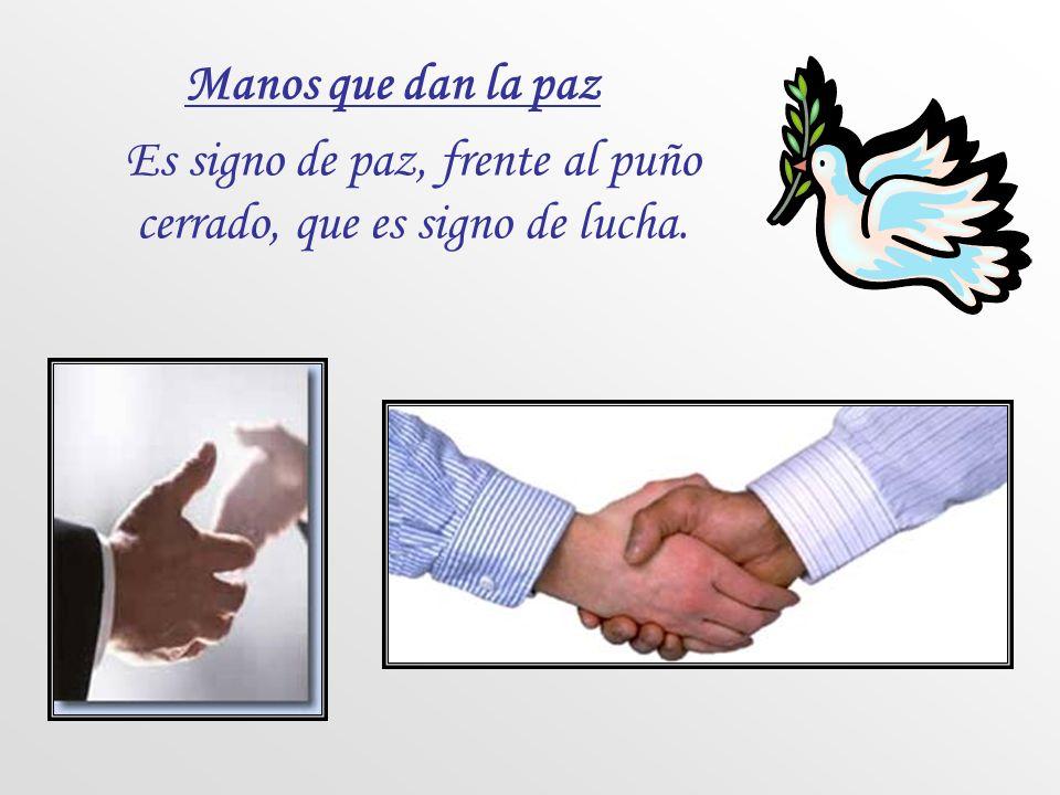Imposición de manos Es signo de una acción sobrenatural por parte de Dios. Manos elevadas y extendidas Es signo del alma que espera ayuda del Cielo.