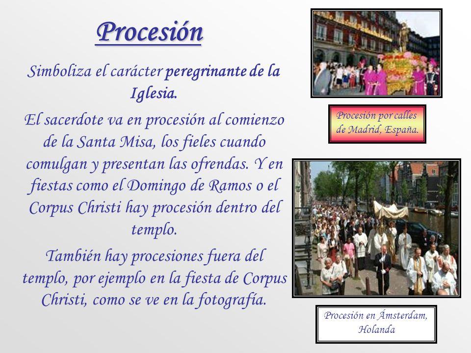 Postración La postración de todo el cuerpo es signo de total donación personal a Dios. Es un signo de humildad y penitencia que aparece con frecuencia