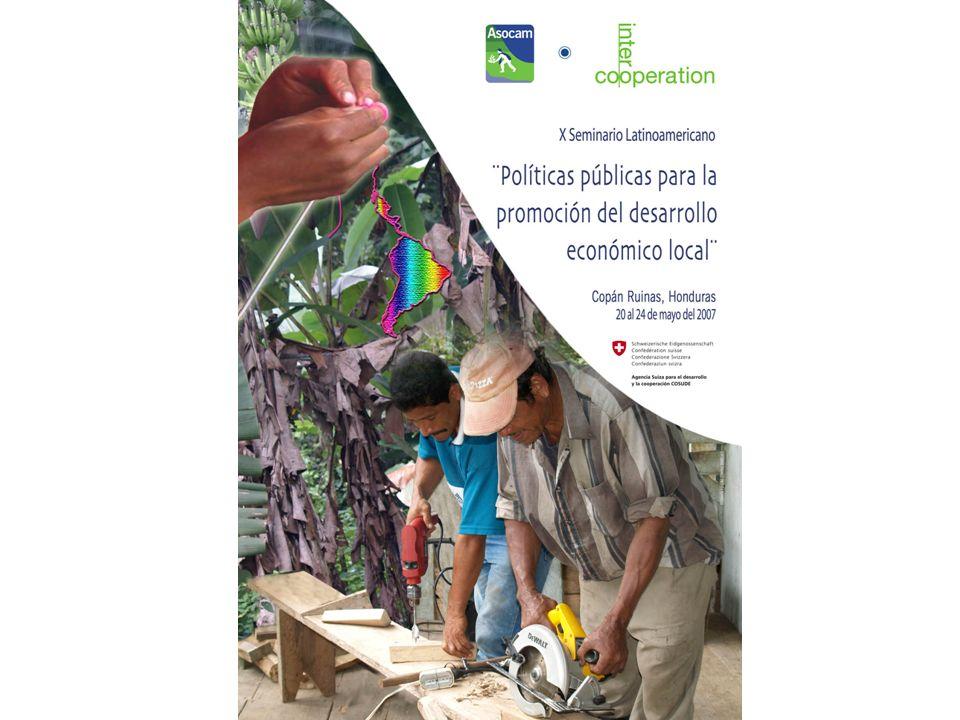 Objetivo del taller Intercambiar experiencias y construir orientaciones para políticas públicas efectivas de promoción del Desarrollo Económico Local incluyente, en zonas con población rural