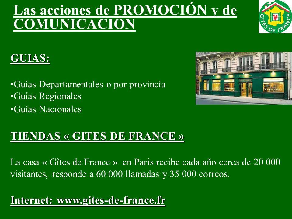 GUIAS: Guías Departamentales o por provincia Guías Regionales Guías Nacionales TIENDAS « GITES DE FRANCE » La casa « Gîtes de France » en Paris recibe