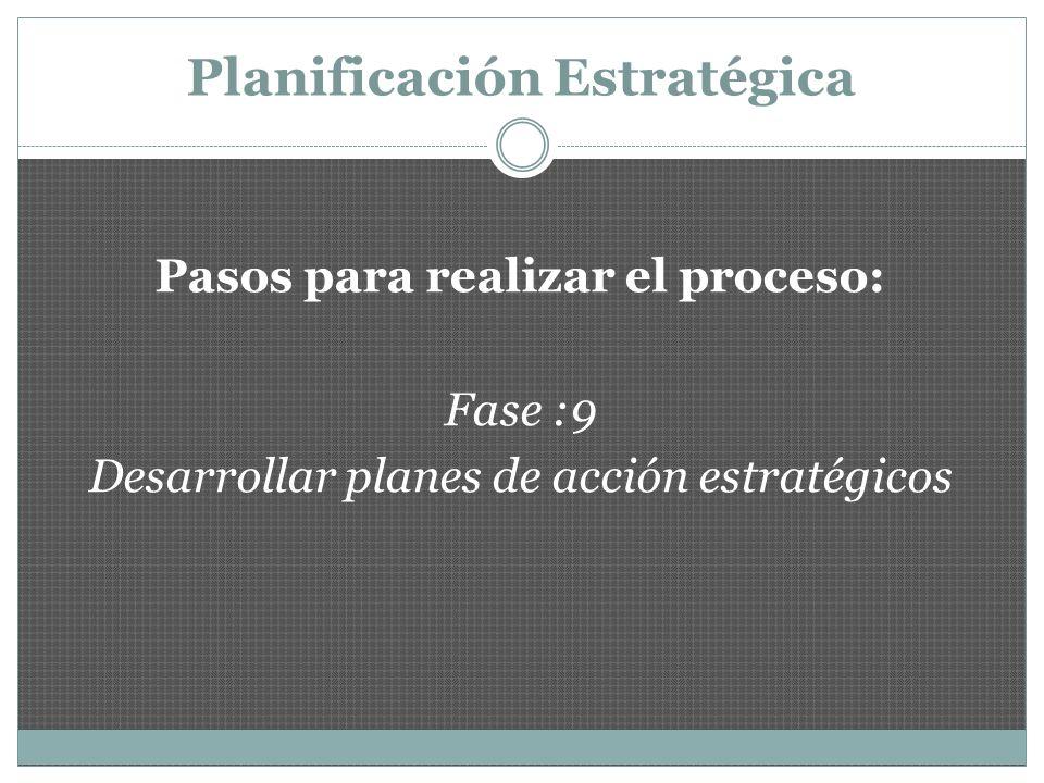 Planificación Estratégica : Ventajas Castillo y otros (2000), presentan algunas ventajas de este tipo de planificación: La organización se ve como un sistema y permite identificar las unidades responsables de implantar las estrategias y el tiempo que le tomará completarlas..
