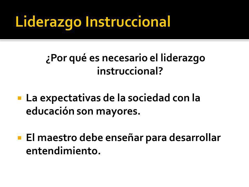 La sociedad exige al maestro el establecimiento claro de los objetivos de aprendizaje.