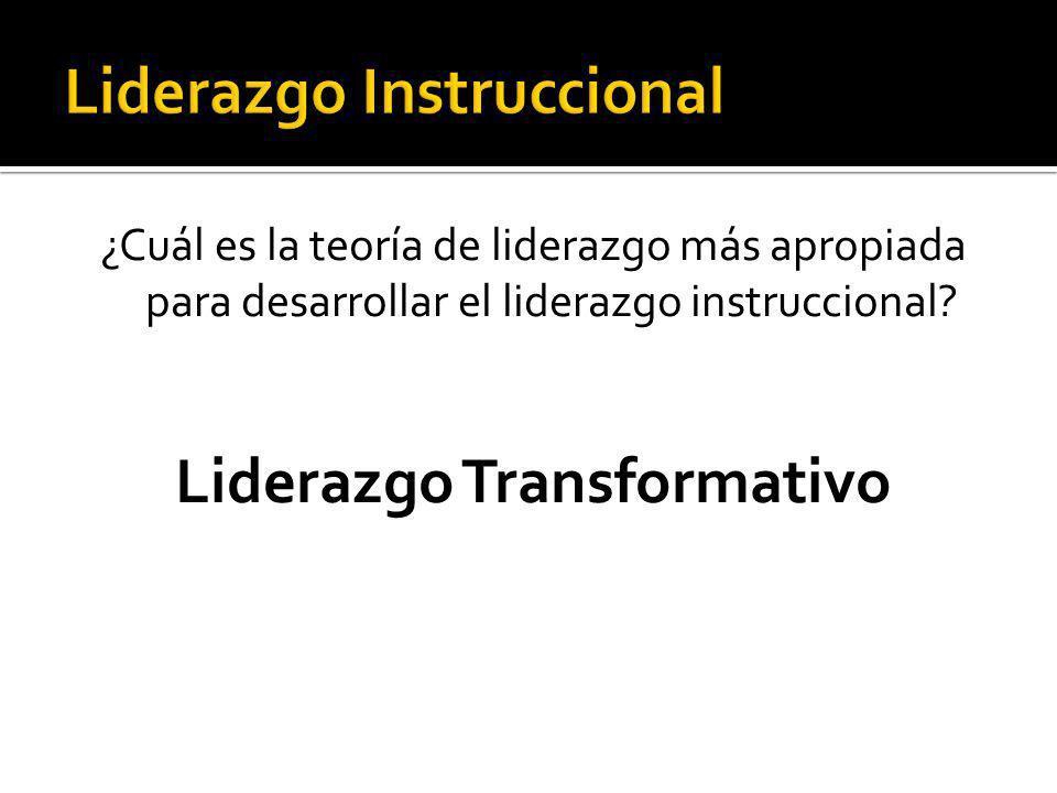 Pilares del Liderazgo Transformativo 1.Comunicación 2.