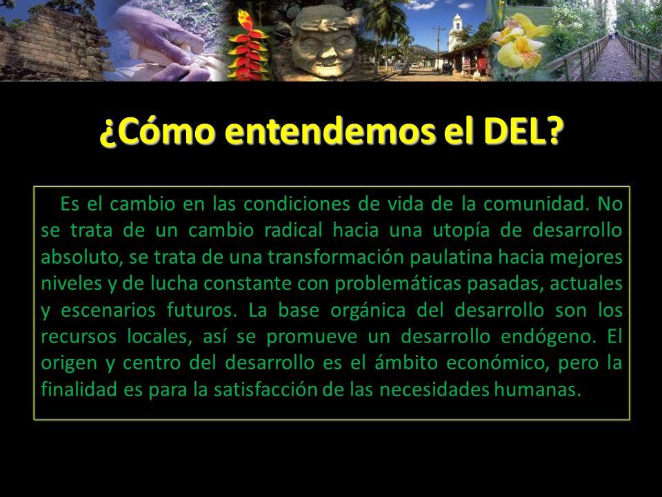 Barreras prácticas del DEL Aún no se llega a la condición donde los ciudadanos de cada lugar se constituyen en gestores de su propio desarrollo.