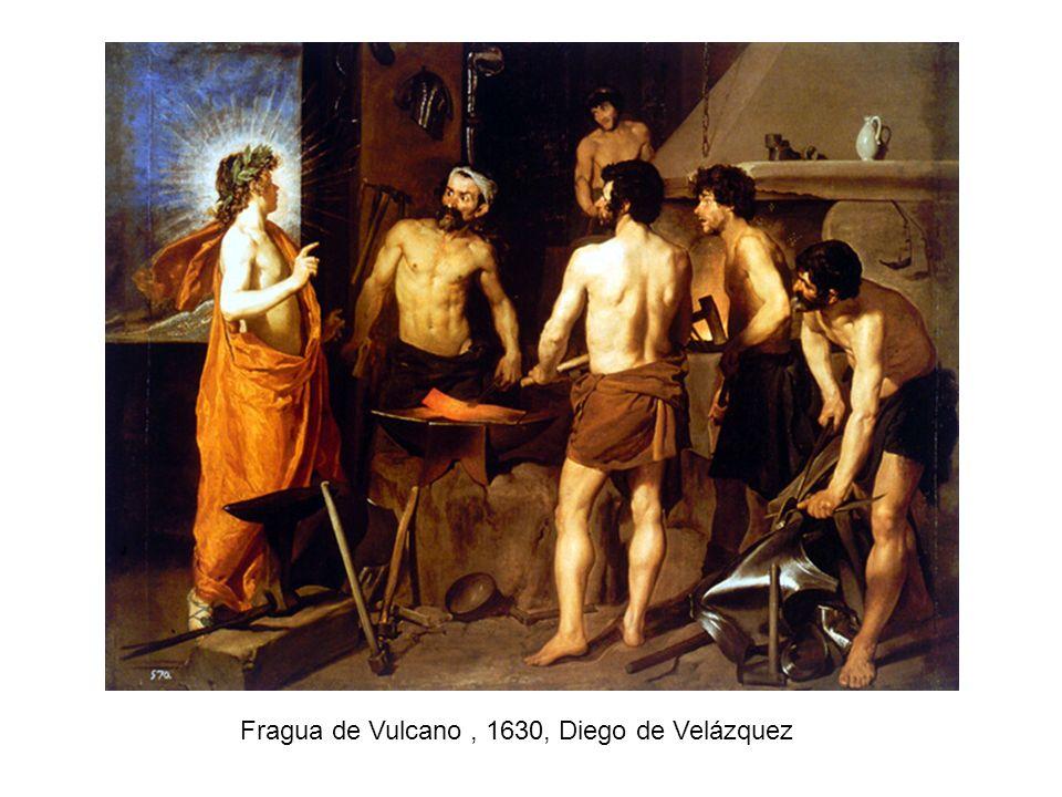 Fragua de Vulcano, 1630, Diego de Velázquez