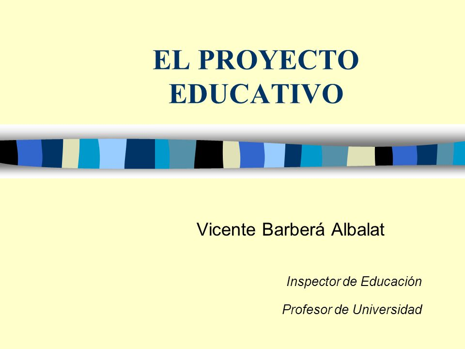 ÍNDICE n 1.- El PEC en el marco del Sistema Educativo: Principios y fundamentos.