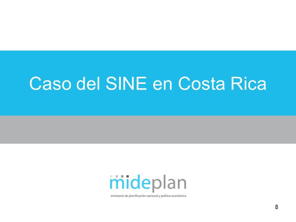 8 Caso del SINE en Costa Rica