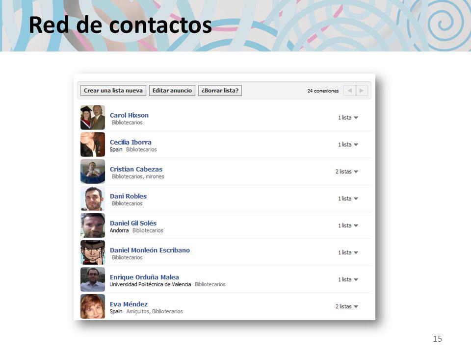 Red de contactos 15