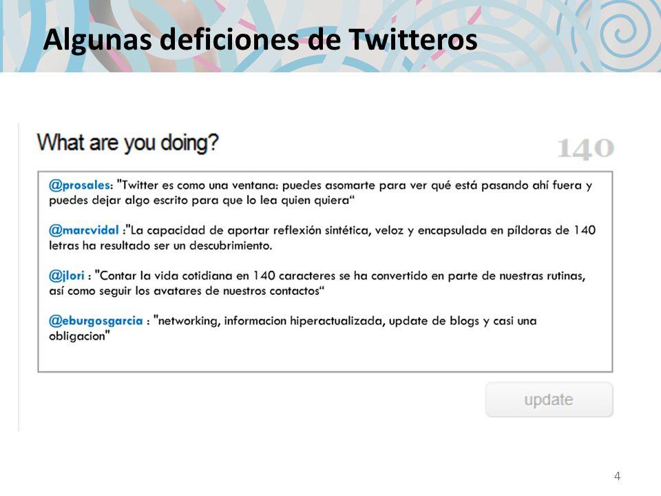 Empezando a Twittear: eligiendo nombre Ojo!: el nombre de usuario será la manera en que serás conocido en Twitter, y la manera en que otros usuarios te harán referencia.