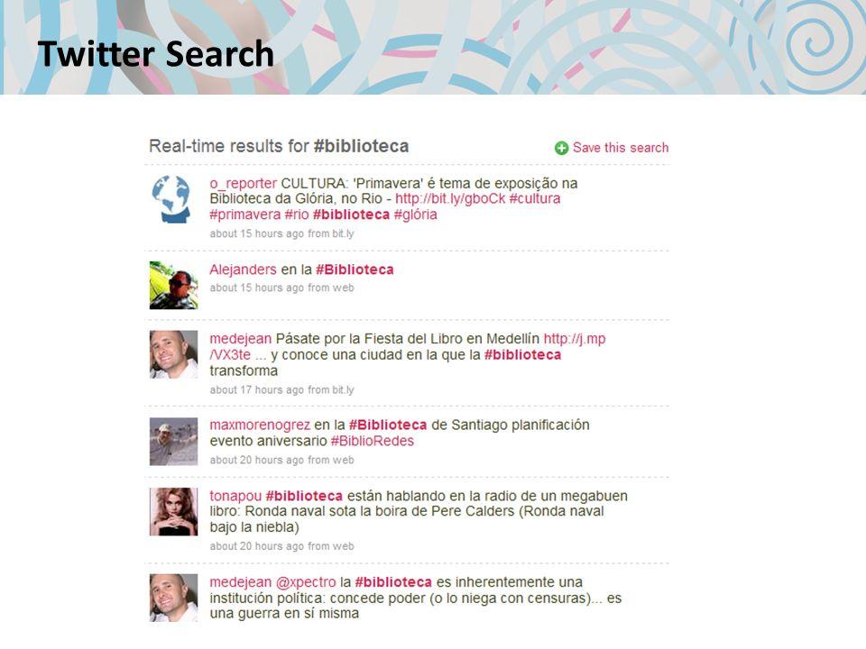 Tutorial http://www.slideshare.net/jjdeharo/tutorial-bsico-de-twitter