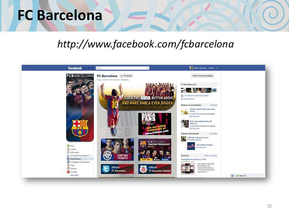 FC Barcelona 35 http://www.facebook.com/fcbarcelona