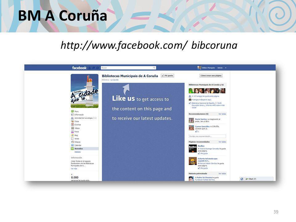 BM A Coruña 39 http://www.facebook.com/ bibcoruna
