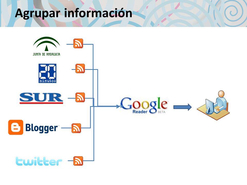 Agrupar información