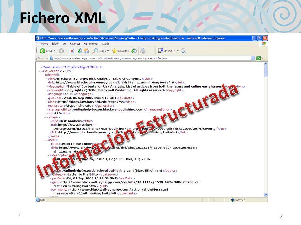7 Fichero XML 7