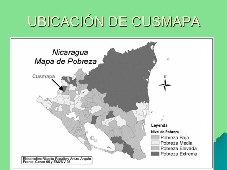 UBICACIÓN DE CUSMAPA