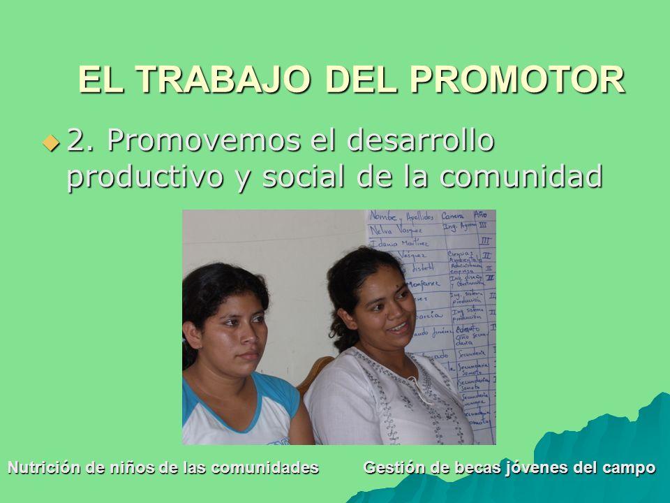 2. Promovemos el desarrollo productivo y social de la comunidad 2.