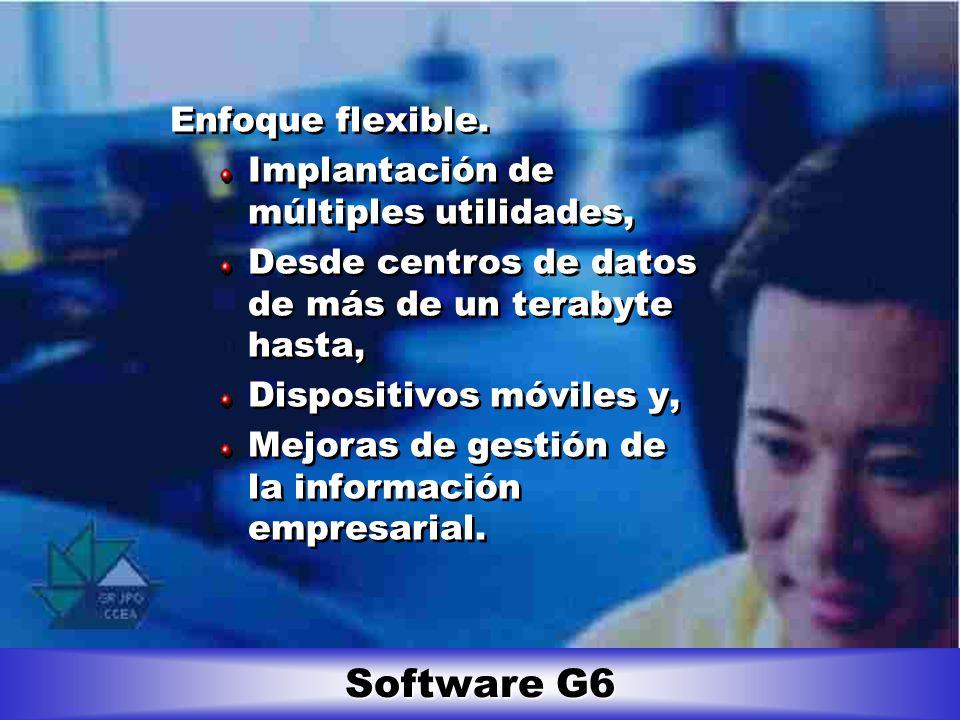 Software G6 Gestión de la información empresarial.
