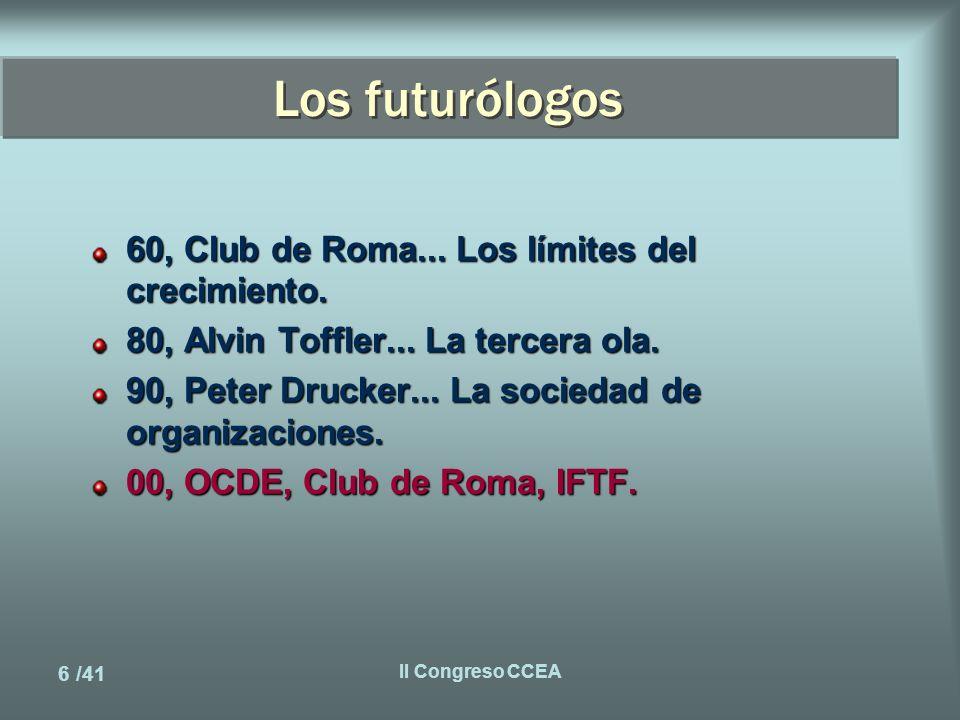 17 /41 II Congreso CCEA Hardware & Software El automovil, el teléfono, ¿???...