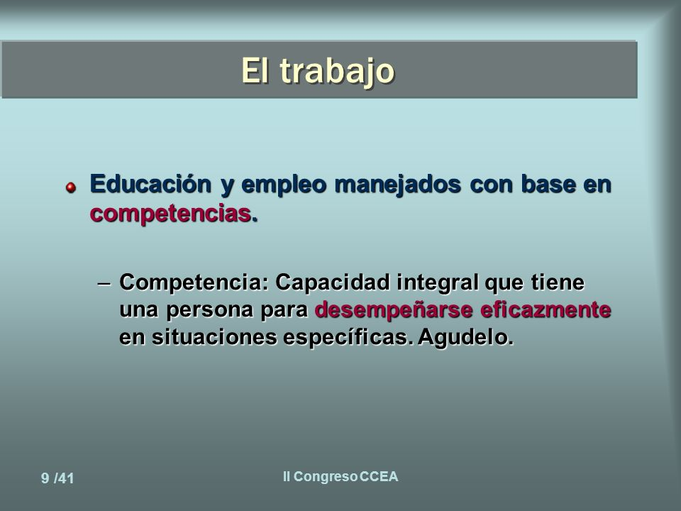 20 /41 II Congreso CCEA Nueva microarquitectura Características.