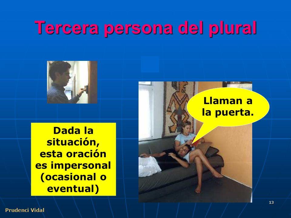 Prudenci Vidal 12 Errores de análisis Cuando el S de una pasiva refleja es toda una proposición, se suele cometer el error de considerar la proposició