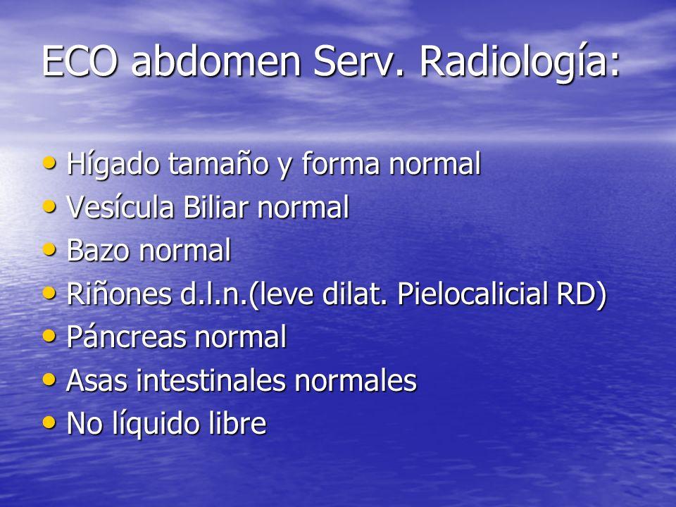 ECO abdomen Serv.
