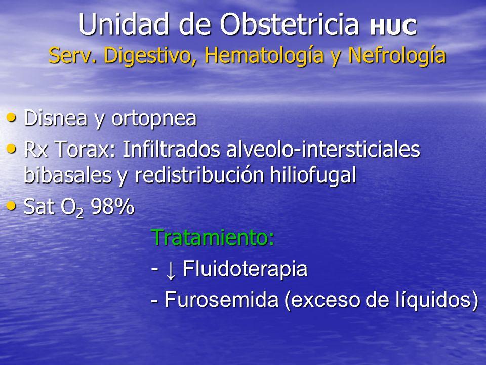 Unidad de Obstetricia HUC Serv.