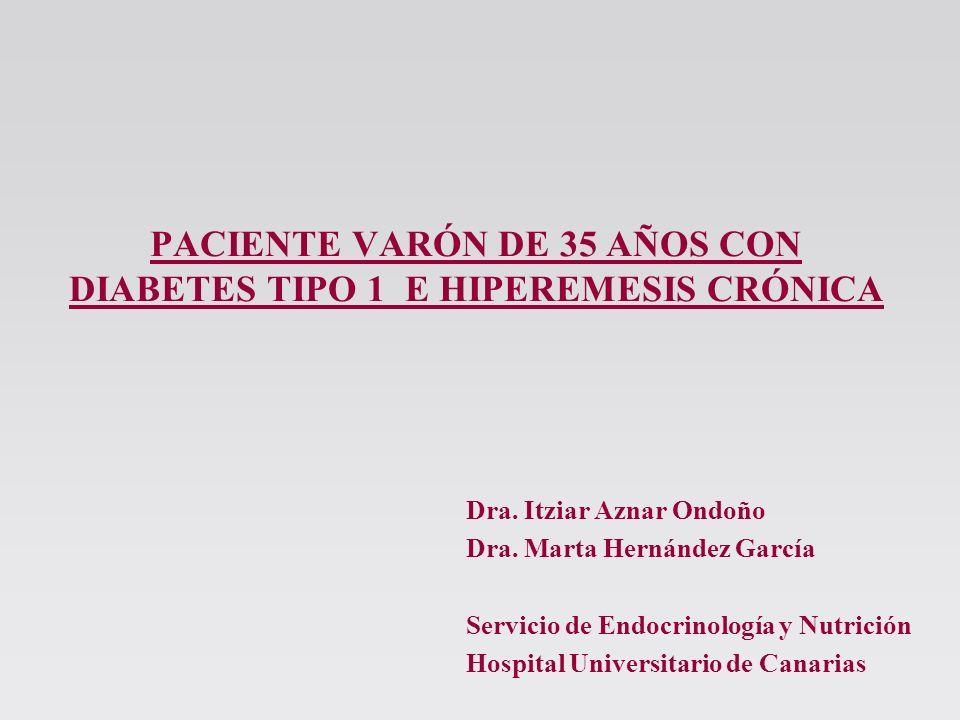 MOTIVO DE INGRESO: Nauseas y vómitos incoercibles 12 horas evolución que impiden la ingesta.