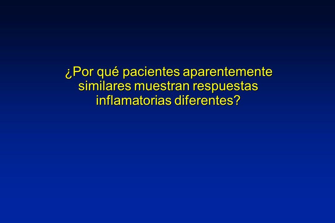 ¿Por qué pacientes aparentemente similares muestran respuestas inflamatorias diferentes?