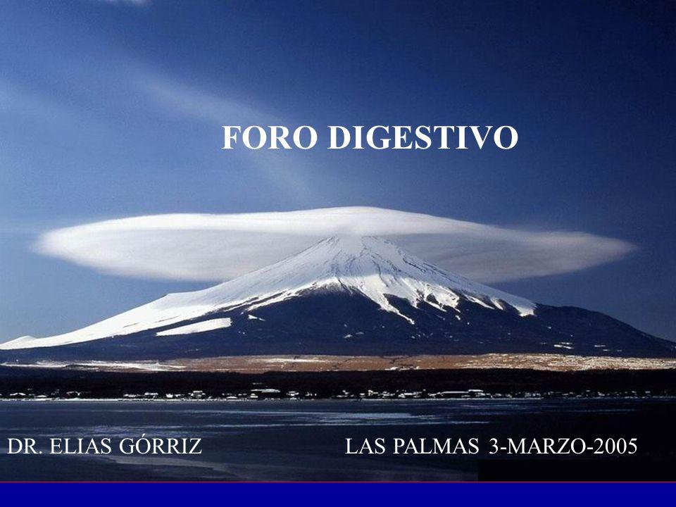 FORO DIGESTIVO DR. ELIAS GÓRRIZLAS PALMAS 3-MARZO-2005