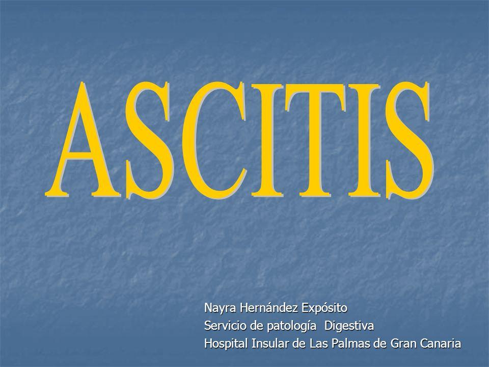 Test diagnosticos del líquido ascítico Recuento celular Es el test más importante.