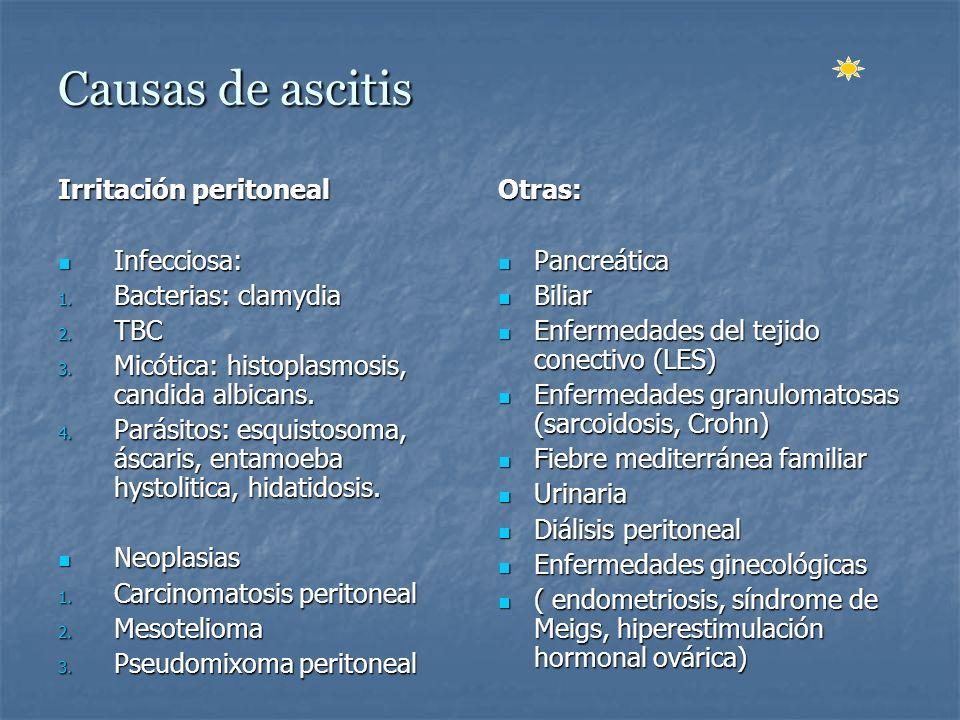 Criterios mayores Enfermedad crónica o aguda con fallo hepático avanzado e hipertensión portal.