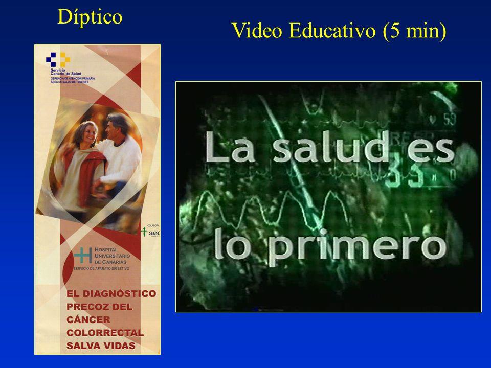 Díptico Video Educativo (5 min)