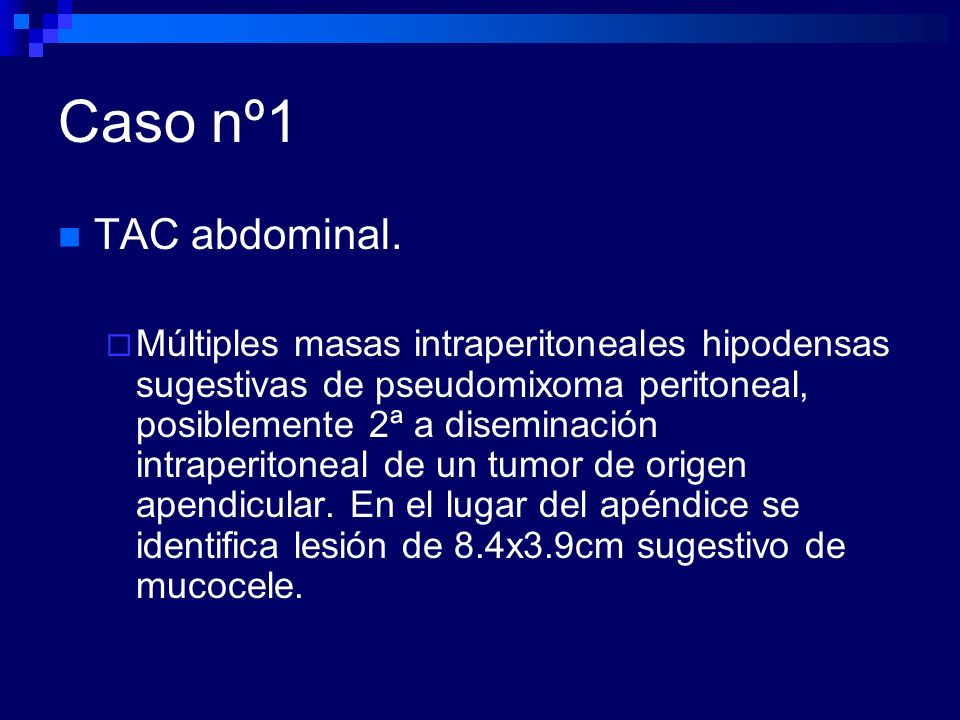 Caso nº3 Líquido Ascítico (turbio).Proteínas 5.9 g/L, Leu160 (PMN60%), ADA97, LDH720.