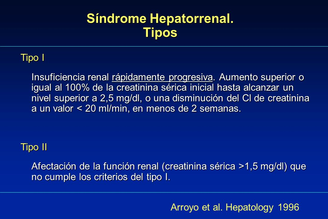 Arteriografía selectiva renal en el Síndrome Hepatorrenal Reproducida de Epstein M.