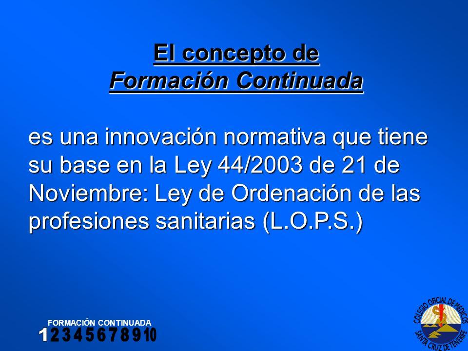 FORMACIÓN DE PREGRADO Artículo 13, apartado 3 de la L.O.P.S.