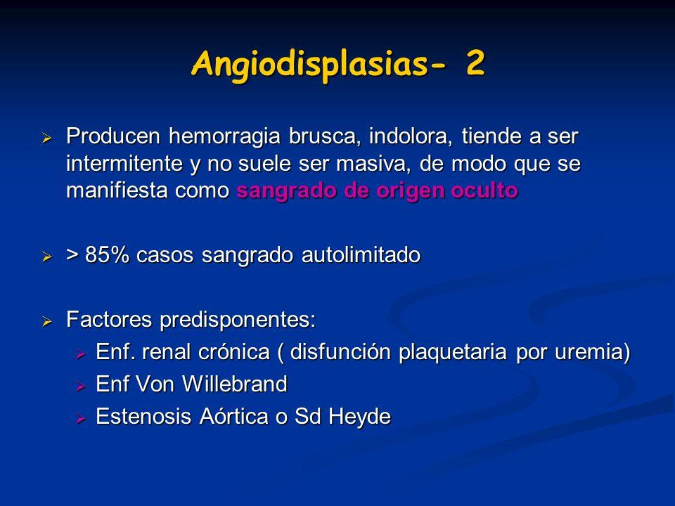 Angiodisplasias- 3