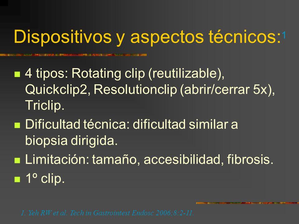 Yeh RW et al. Tech in Gastrointest Endosc 2006;8:2-11.