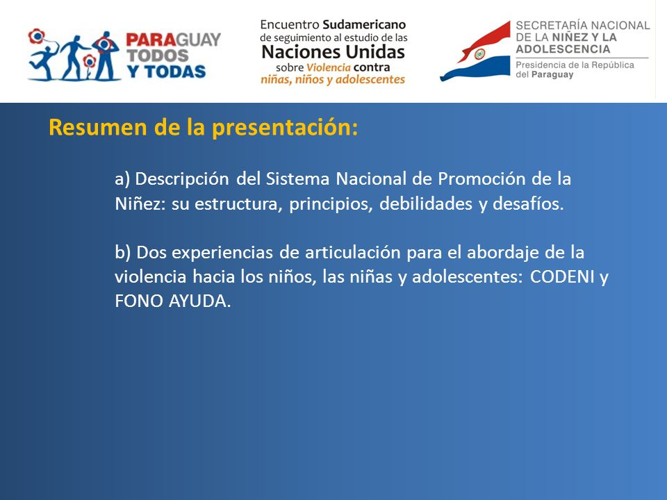 Enfoques para la intervención Sistema de Protección Nacional e Internacional.