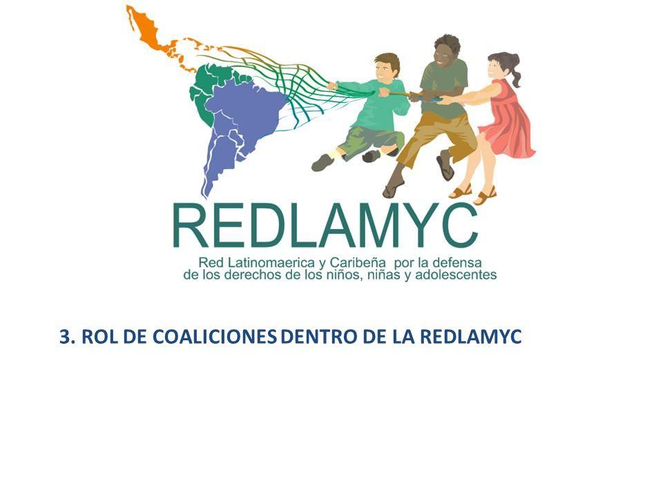 3. ROL DE COALICIONES DENTRO DE LA REDLAMYC