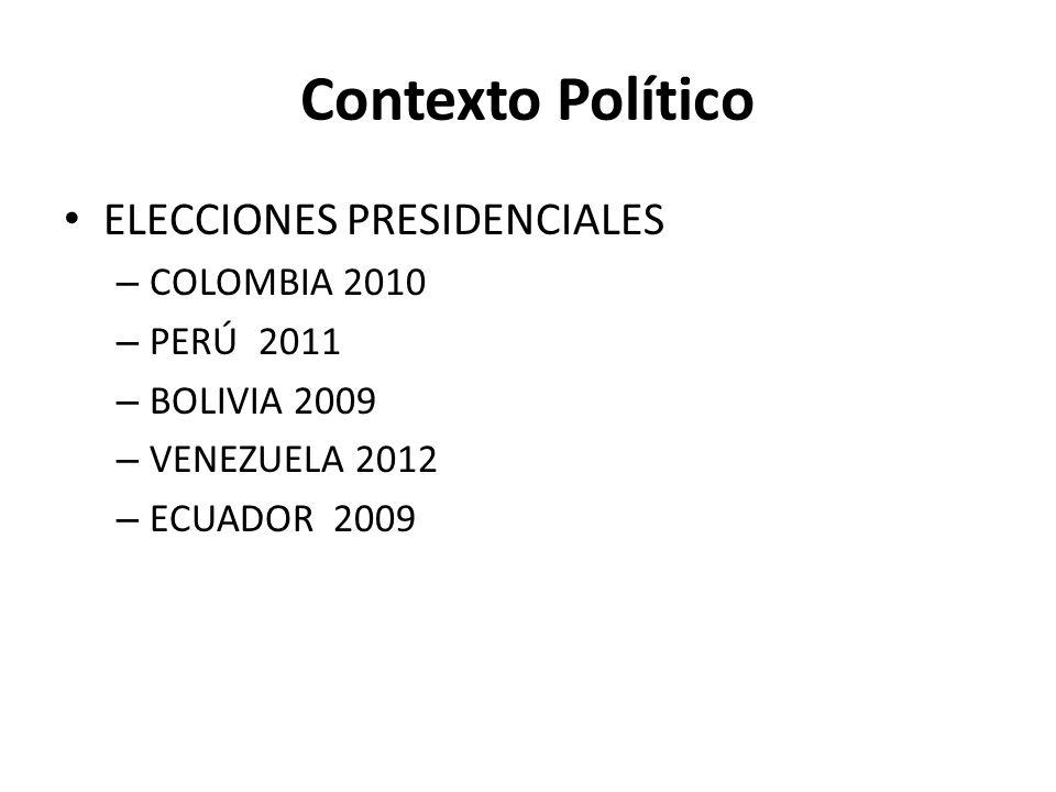 INFORMES AL CDN ECUADOR 2009 BOLIVIA COLOMBIA 2011 PERÚ 2011 VENEZUELA 2011